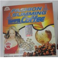 Buy cheap Nature Fashion Slimming Diet Coffee Fashion slimming Weight Loss Slimming Coffee original reduce fat coffee from wholesalers