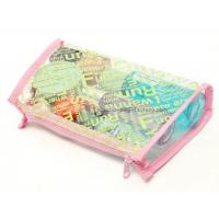 Buy cheap Plastic women folding makeup toiletry PVC cosmetic bag storage case from wholesalers