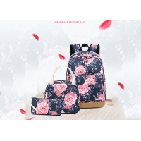 Buy cheap Widen Shoulder Straps Multipurpose Childrens Canvas Backpack from wholesalers