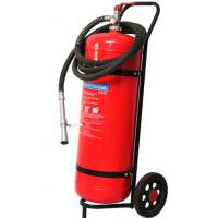 Buy cheap Wheeled Trolley Type ABC Dry Powder Fire Extinguisher 50KG Smooth Surface Light product