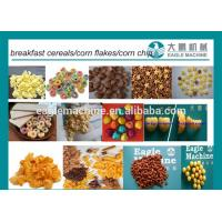 Buy cheap Automatic Corn Snack Chips Production Line /Breakfast Cereals Corn Flakes Processing Machine from wholesalers