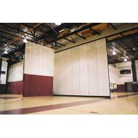 Buy cheap Interior Decorative Aluminium Profile Operable Gymnasium Wooden Movable Partition Wall from wholesalers