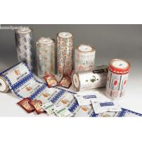 Buy cheap Pure Aluminum Automatic Packaging Film Roll , Laminated Packaging Film For Food from wholesalers