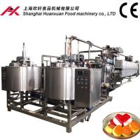 Buy cheap Multifunctional Soft Candy Production Line With Easy Operating LED Touch Panel from wholesalers