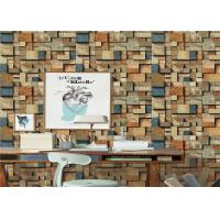 Buy cheap Fireproof Removable Brick Look Wallpaper Non - Pasted For Household product