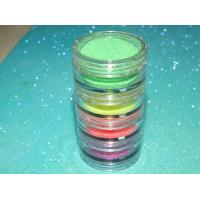 Buy cheap 1/128 Colorful Neon Acrylic Glitter Powder For Decorating from wholesalers