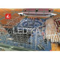 Buy cheap Customized Ceiling Lighting Truss System Aluminum Circle Truss For Decoration from wholesalers