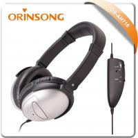 Buy cheap airline active noise-cancelling headphone from wholesalers