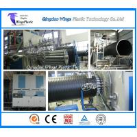 Buy cheap HDPE Large Diameter Plastic Winding Sewage Pipe Making Machine from wholesalers