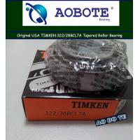 Buy cheap Timken Automotive Tapered Roller Bearing For Plastic Machinery 322 / 28BCL7A from wholesalers