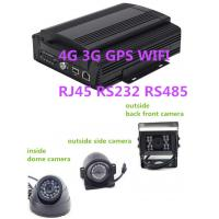 Buy cheap School Bus Hybrid HD Mobile DVR 8CH 1080P 4G GPS WIFI rs485 RS232 RJ45 from wholesalers