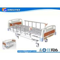 Buy cheap 3 Crank Hospital Style Beds With Name Card On Head board side from wholesalers