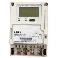 Buy cheap Remote Reading Domestic Wireless Energy Meter 1 Phase with GPRS Modules from wholesalers
