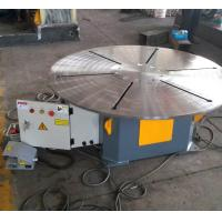 Buy cheap Horizontal Rotary Welding Positioner 20 T With Foot Pedal Wireless / Remote Cable Control from wholesalers