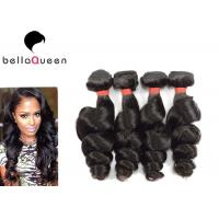 Buy cheap Indian 6A Remy Hair Natural Black Loose Wave Human Hair Weaving Without Chemical product