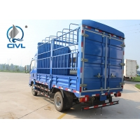 Buy cheap CCC Light Duty Commercial Trucks Stake Transporting Wheelbase 4200 EUROⅢ from wholesalers