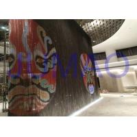 Custom Metal Chain Link Curtains , Non Combustible Aluminium Chain Door Screens