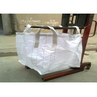 Buy cheap 4 - Panel Pp Woven Bag Custom Color , Plain Fabric Fibc Jumbo Bags For Grain from wholesalers