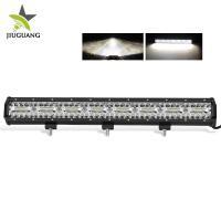 IP 68 Rate Off Road Led Light Bar 10D Reflector Adjustable Bottom Bracket