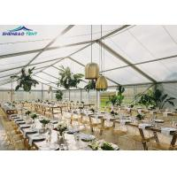 Buy cheap Marquee Party Tent Clear Roof And Walls For Wedding , Rent Event Tents from wholesalers