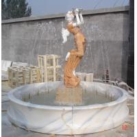 Buy cheap Caved Elegant Lady Water Fountains, Beautiful Garden Stone, Fountains from wholesalers