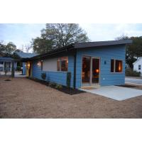 Buy cheap Wooden Plastic Decorate Modular Homes , Prefabricated Bungalow Homes from wholesalers