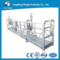 Buy cheap zlp suspended scaffolding / electric winch basket / suspended equipment / window cleaning from wholesalers