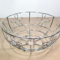 Buy cheap Stainless Steel Fruit Basket, Unique Style, Eco-friendly and Durability, Customized Colors Welcomed from wholesalers