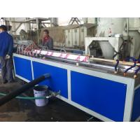 Buy cheap Plastic PVC Profile Extrusion Machine Panel , Double Screw Extruder from wholesalers