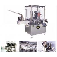 Buy cheap AL / PL Blister / Bottle Automatic Vertical Cartoning Machine With PLC Control from wholesalers
