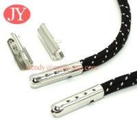 Buy cheap jiayang factory price small MOQ brass metal aglet shoelace aglets tip from wholesalers