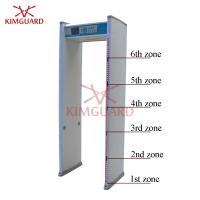 Buy cheap 6 Zone Enhanced  Airport Metal Detector Security Gate For Military Sites Security Check from wholesalers