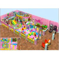 Buy cheap Factory Price Kids Indoor Soft Playground Inflatable Playground With Candy Theme for sale from wholesalers