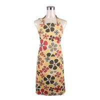 Buy cheap Fashionable and Recycle Flower Printed Retro Ladies Cook Aprons / Cotton Bib Aprons from wholesalers