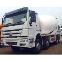 Buy cheap 8 x 4  25 CBM Volumetric Cement Mixer Truck of Sinotruck With 1% Rate Ratio from wholesalers
