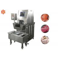 Buy cheap Industrial Meat Injector Machine Stainless Steel 304 Material 1 Year Warranty from wholesalers