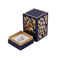 Buy cheap Square Cosmetic Luxury Paper Perfume Bottle Packaging Box Wholesale Cosmetic Gift Boxes from wholesalers