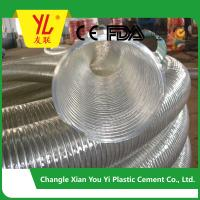 Buy cheap hot selling steel wire flexible pvc duct hose from wholesalers