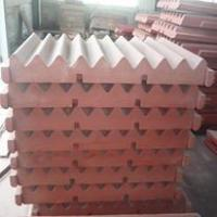 China crusher spare parts high manganese steel crusher jaw plate movable jaw plate swing jaw on sale