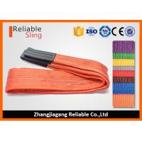 Buy cheap Heavy Duty 100% Polyester Hoist Lifting Sling Rigging Sling Endless Low weight from wholesalers