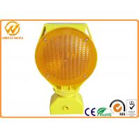 Buy cheap Barricade Solar Powered LED Strobe Lights for Traffic Safety Site from wholesalers