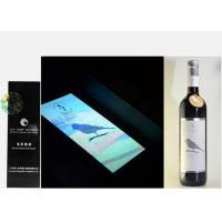 Buy cheap Silver Foil Embossed Wine Label Stickers , Custom Wine Bottle Labels For Security Mark from wholesalers