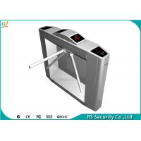 Buy cheap 304 Stainless Steel  Security Automatic Systems Tripod  Turnstiles Inward from wholesalers