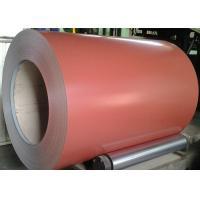 Brown Prepainted Galvalume Steel Coil 55% AZ30-100 Painting 4+14/5-7
