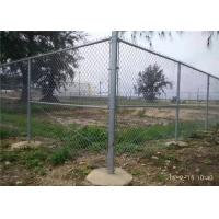Buy cheap 6FT Chain Link Fence Fabric , Diamond Mesh Fencing Low Carbon Iron Wire from wholesalers