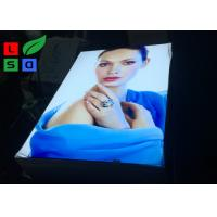 China 2 X 3 Big Format LED Edge - Lit Style Fabric Light Box With Roll Up White Backing on sale