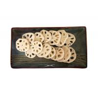Buy cheap New Crop IQF Frozen Root Vegetables , Eco-friendly Frozen Slice Lotus Root from wholesalers