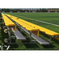 Buy cheap Light Weight Aluminum Stadium Bleachers Portable Outdoor Seat Color Optional from wholesalers