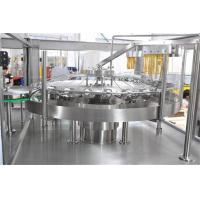 Buy cheap Small Carbonated Drink Filling Machine 3000-18000 Bottles / Hour ISO Certification from wholesalers
