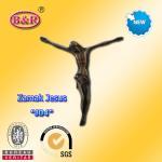 Buy cheap Zamak Jesus size 10.2*11.2cm zinc alloy cross part for crucifix , No  J04  from wholesalers